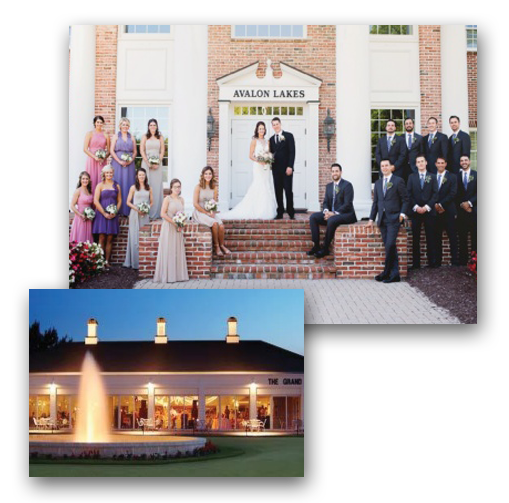 Wedding Photos at the Avalon Inn & Resort