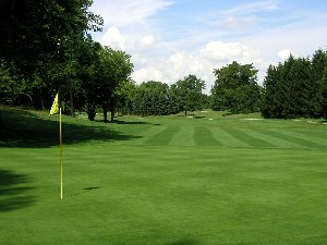 Squaw Creek Golf Course Hole 1