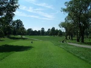 Squaw Creek Golf Course Hole 8