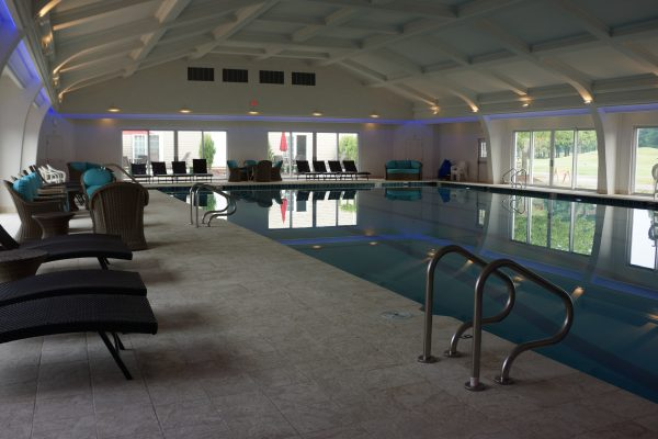Indoor Pool at Avalon Inn and Resort